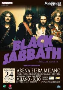 Black Sabbath al Gods Of Metal 2012