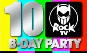 Rock Tv 10 Birthday Party