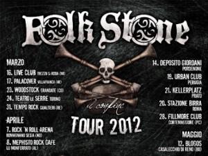 Folkstone il tour 2012