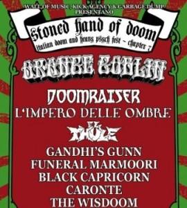Stoned Hand Of Doom Festival