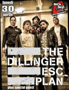 Dillinger Escape Plan al New Age Club