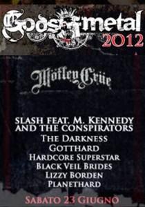 Gods Of Metal 2012 - 23 giugno