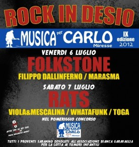 Rock In Desio 2012