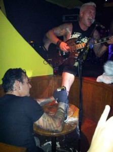 biohazard live tatoo