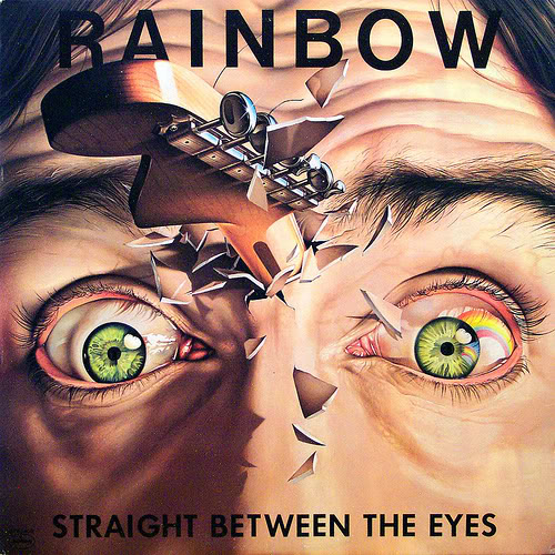 Vos derniers achats (vinyles, cds, digital, dvd...) - Page 4 Rainbow-Straight-Between-The-Eyes