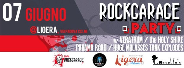 2 RockGarage Party banner orizzontale