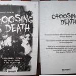 Choosing Death libro
