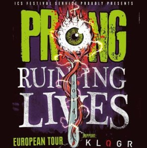 Prong Klogr tour 2014