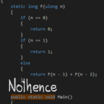 Nothence - Public Static Void