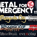 Metal For Emergency 2014