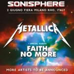 Metallica Sonisphere Italia 2015