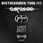 Deathcrusher Tour 2015 17 novembre Estragon Bologna