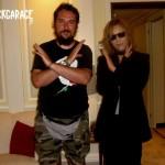 Cristian Danzo e Yoshiki degli X Japana
