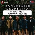 RockGarage e Hub Music Factory regalano biglietti e merchandising dei Manchester Orchestra