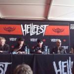 Conferenza stampa Scorpions all' Hellfest 2015