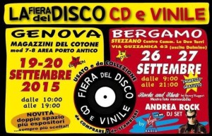 Fiera del disco cd e vinile 2015 genova