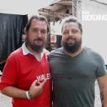 Cristian Danzo con Casey Crescenzo dei The Dear Hunter