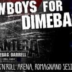 Cowboys For Dimebag III 5 dicembre 2015