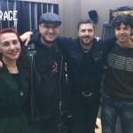 Mario Riso e lo staff di RockGarage