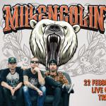 Concerto Millencolin Live Club di Trezzo sull'Adda 22 febbraio 2016