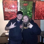 Piero Di Battista e Scott Middleton dei Cancer Bats