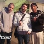 "Ben Marvin e Jermaine ""J"" Hurley degli Hacktivist con Antonluigi Pecchia"