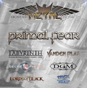 Frontiers Metal Festival 30 ottobre 2016