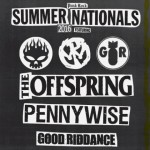 Punk Rock Summer Nationals 2016 The Offspring + Pennywise + Good Riddance@Market Sound (MI)