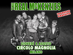 The Real McKenzies 2016