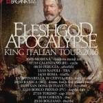 Fleshgod Apocalypse King Italian Tour 2016