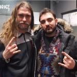 Intervista a Fredrik Larsson degli Hammerfall con Antonluigi Pecchia