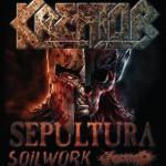 Kreator Sepultura Soilwork Aborted 21 febbraio 2017 Live Music Club