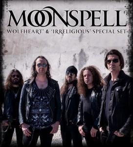 MOONSPELL Wolfheart & Irreligious Special Set