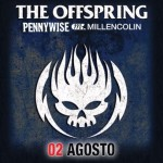 Offspring e Millencolin Pennywise 2017 agosto Rock in Roma