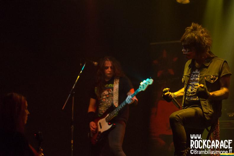 Junkie Dildoz at Midian Live (Cremona) 26-03-2017