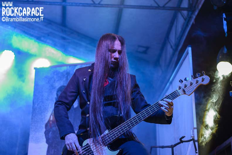 Milan, Italy. 24st April, 2017. Italian melodic death metal band performance at Insubria Festival 2017. © Brambilla Simone Photography/Live News
