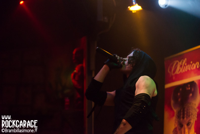Cremona, Italy. 6st May, 2017. groove electronic metal band JTR Sickert performs at Midian Live. © Brambilla Simone Photography Live News