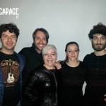 Marcello Zinno con i Gambardellas