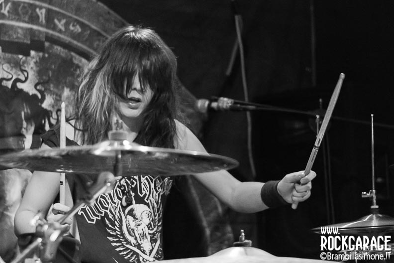 Milan, Italy. 2st June, 2017. Italian metal band Raging Dead performs at Blue Rose Saloon. Brambilla Simone Photography Live News