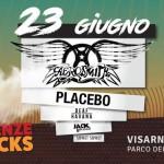 Aerosmith Placebo Firenze Rocks (FI)