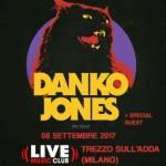 Danko Jones Milano 2017