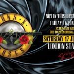 Guns 'n Roses London Stadium 17 giugno 2017