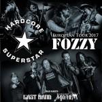 Hardcore Superstar e Fozzy