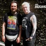 Cristian Danzo insieme a Greg Mackintosh dei Paradise Lost