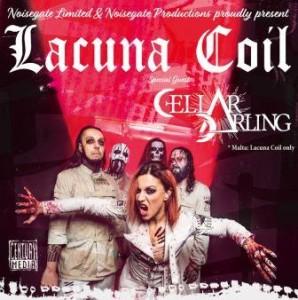 Lacuna Coil tour 2017
