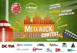 Meta Rock Festival 2017 con RockGarage in giuria