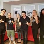 Arch Enemy e Matteo Iosio di RockGarage