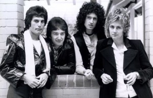 Queen foto ristampa News Of The World