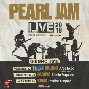 Pearl Jam Eddie Vedder 2018