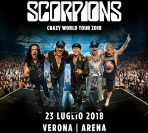 Scorpions Italia Verona 2018